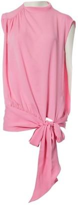 Maison Margiela Pink Silk Tops