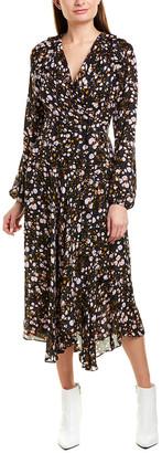 A.L.C. Fonda Silk Wrap Dress