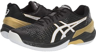 Asics Sky Elite FF (Black/White) Men's Volleyball Shoes