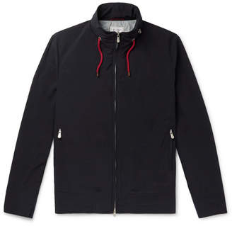 Brunello Cucinelli Slim-Fit Shell Hooded Bomber Jacket