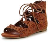 Very Kiki Older Girls Ghillie Tie Shoe