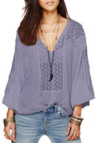 Free People Moon River Easy Blouse