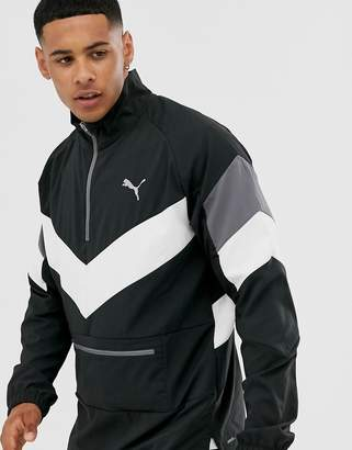 Puma Training reactive packable jacket in black