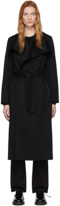 Mackage Black Wool Mai R Coat
