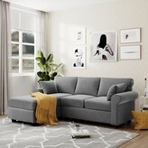 Thumbnail for your product : Winston Porter L-shaped Sofa Combination, Suitable For Living Room And Bedroom