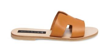 Steve Madden Greece Cognac Leather