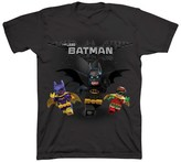 Batman Boys' The LEGO Movie T-Shirt- Black