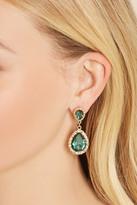 Forever 21 Faux Gem Drop Earrings