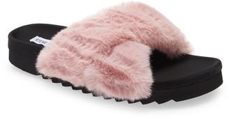 Steve Madden Amari Faux Fur Slipper