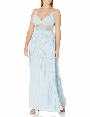 BCBGMAXAZRIA Women's Sunburst Empire Gown