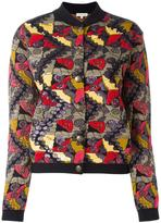 Etro embroidered bomber jacket - women - Viscose/Polyester/Metallic Fibre - 42