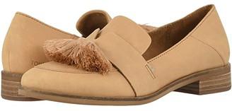 Toms Estel (Black Leather) Women's Shoes
