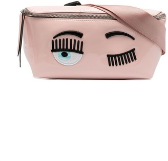 Chiara Ferragni Kids Flirting Motif Belt Bag