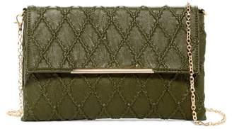 Urban Expressions Taurus Quilted Vegan Leather Clutch