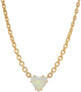 Irene Neuwirth Jewelry Opal Heart Necklace 1.21cts