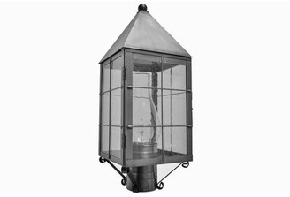 Brass Traditions 1-Light Lantern Head Finish: Antique Brass, Shade Type: Clear