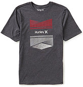 Hurley New Order Short-Sleeve Crew Neck Graphic Tee