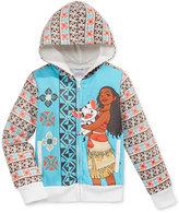 Nannette Disney's® Moana Fleece Hoodie, Toddler & Little Girls (2T-6X)