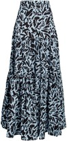 Veronica Beard Serence Faille Maxi Skirt