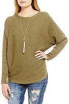 Chelsea & Violet Dolman Hi-Low Sweater