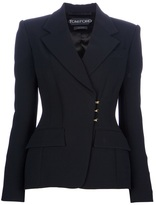 Tom Ford fitted hook fastening blazer