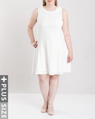 Junarose Women's Plus Size Radel Sleeveless Dress