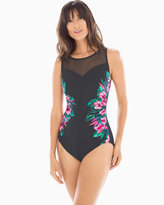 Soma Intimates Tahitian Temptress Fascination One Piece Swimsuit