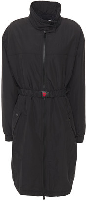 Love Moschino Belted Shell Coat