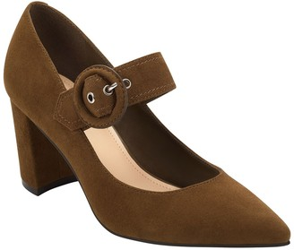 Marc Fisher Carney Mary Jane Pointed Toe Pump