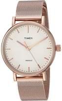 Timex Fairfield Mesh Watches