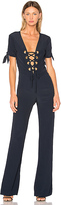 Dream Nicolette Jumpsuit in Navy. - size 1 / S (also in )