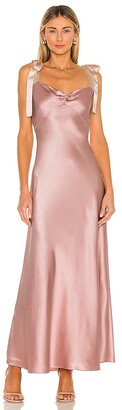 Dannijo Dress with Bow Tie Straps