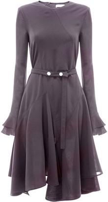J.W.Anderson Godet Ruffled Hem Dress