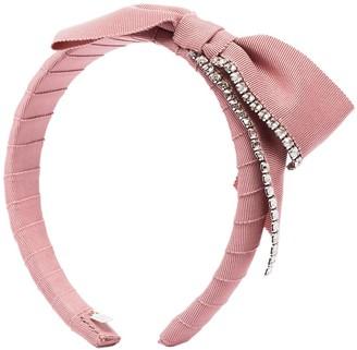 Gigi Burris Millinery Stella crystal-embellished headband