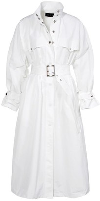 Aggi Vanda White Milk Trench Coat