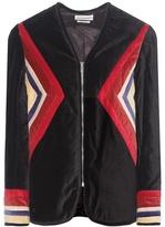 Etoile Isabel Marant Isabel Marant, Étoile Lalia velvet cotton jacket