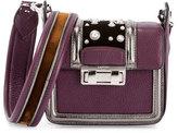 Lanvin Jiji Studded Mini Shoulder Bag, Purple