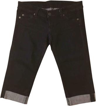 McQ Black Cotton Jeans for Women