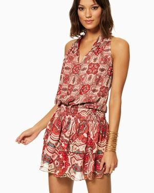 Ramy Brook Printed Brady Dress