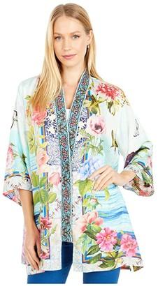Johnny Was Parvati Kimono (Reversible) (Multi) Women's Clothing