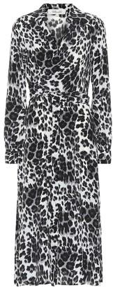 Diane von Furstenberg Donika printed silk midi dress