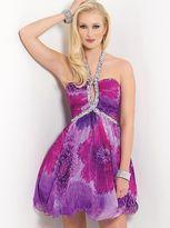 Blush Lingerie Floral Printed Cocktail Dress 9409