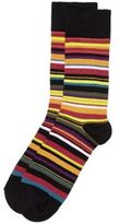 River Island MensRed multi stripe socks