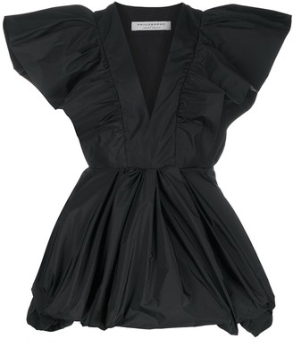 Philosophy di Lorenzo Serafini A-line ruffled-sleeves dress