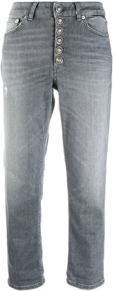 Dondup Koons mid-rise straight jeans