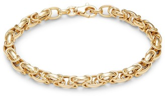 Saks Fifth Avenue Made In Italy 14K Yellow Gold Chain Bracelet