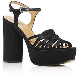 Marc Jacobs Women's The Gram Sandal Platform Block-Heel Sandals