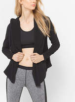 Michael Kors Active Stretch-Jersey Hoodie