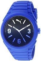 Puma Unisex PU103592008 Gummy fading blue Analog Display Watch