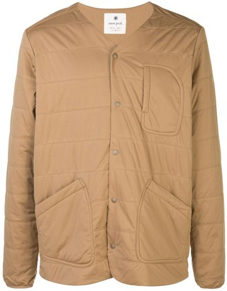 Snow Peak Quited-Effect Multi-Pocket Jacket